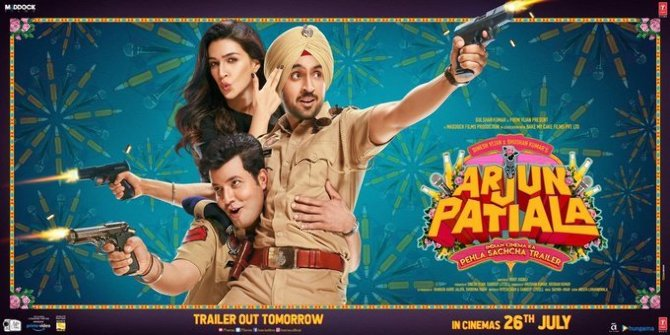 Diljit Dosanjh  Kriti Sanon and Varun Sharma starring Arjun Patiala Movie Photos  4