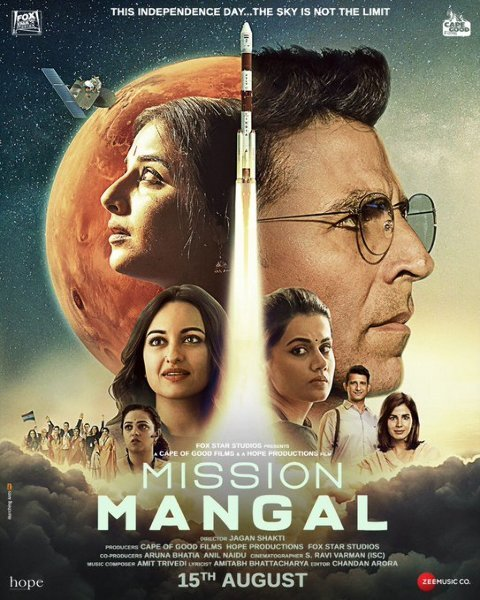 Mission Mangal Movie New Poster
