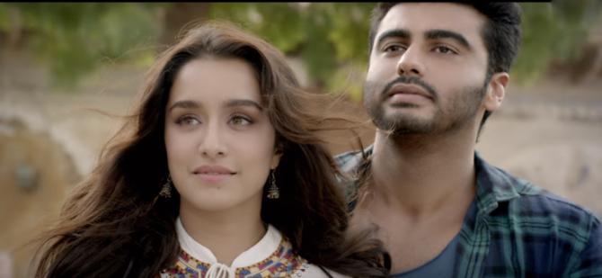 Shraddha Kapoor  Arjun Kapoor Half Girlfriend Film Stills  11
