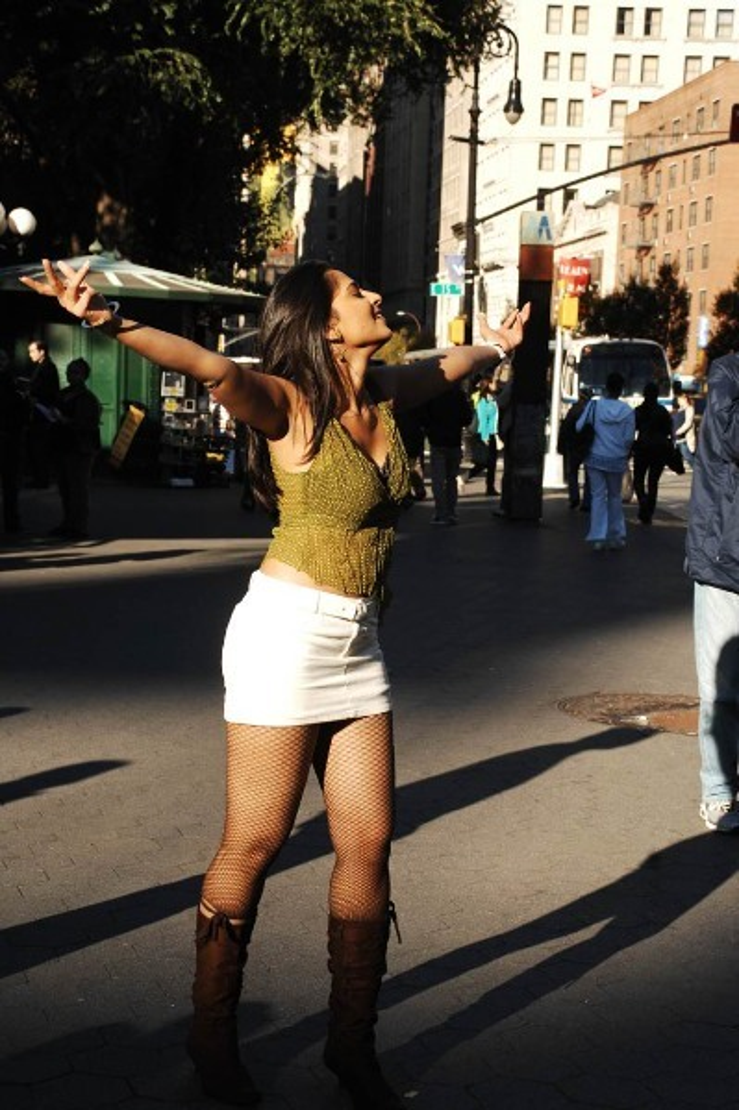 Anushka Shetty Shooting  12
