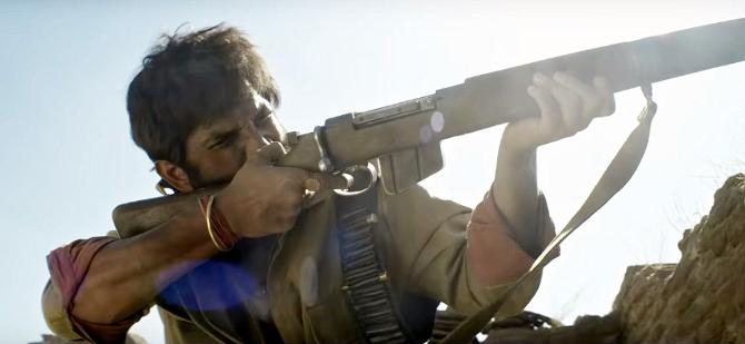 Sushant Singh Rajput starrer Sonchiriya Hindi Movie Photos  9
