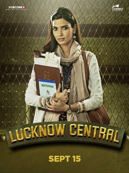Diana Penty Lucknow Central Movie Poster