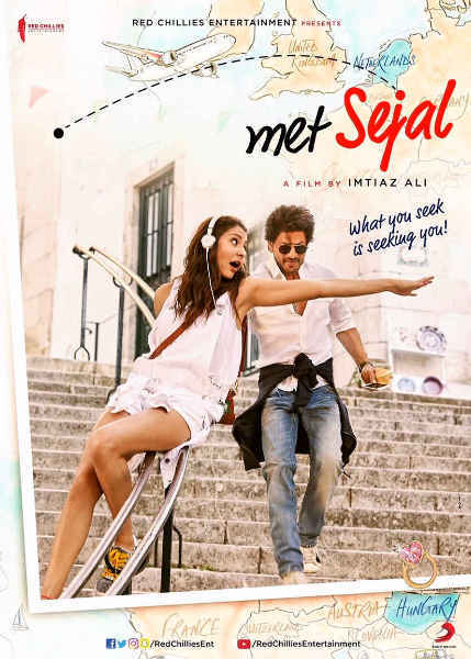 ab Harry Met Sejal Movie Poster