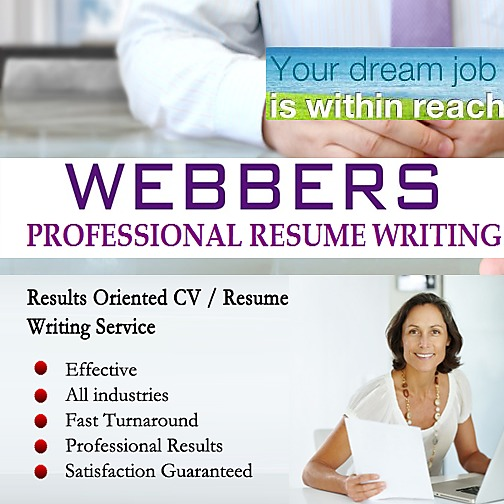 webbers group resume writing services