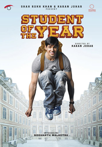 Siddharth Malhotra Student of the Year Movie Poster