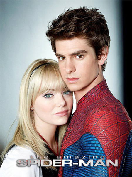 Andrew Garfield and Emma Stone in The Amazing Spider Man Movie Photo