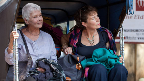 Judi Dench The Best Exotic Marigold Hotel Movie Photo