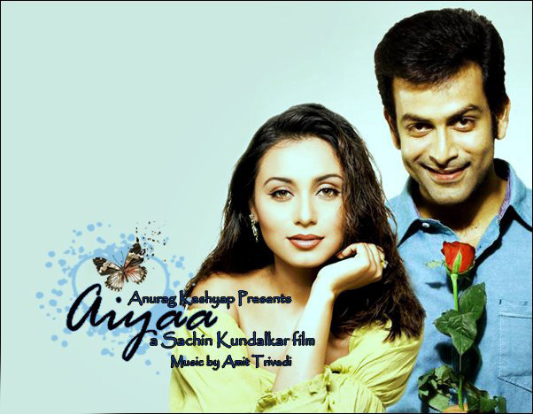 Rani Mukerji Prithviraj Sukumaran Aiyyaa Movie Latest Poster