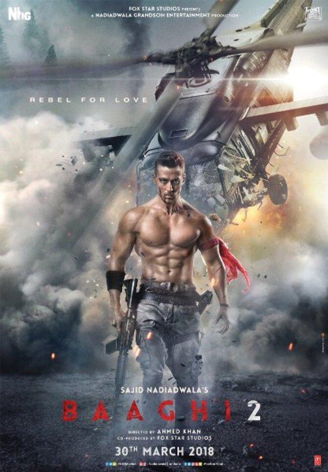Baaghi 2 Hindi Movie Poster  2