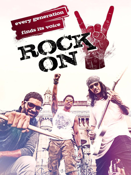 ROCK ON 2 Movie Latest Poster