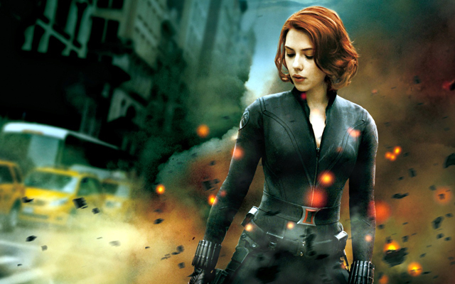 The Avengers Black Widow Photo