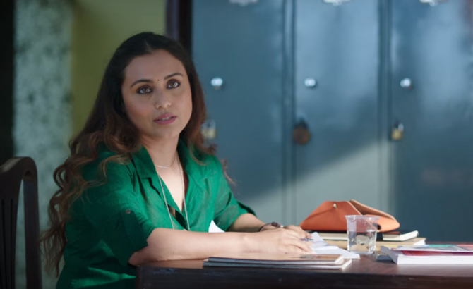Rani Mukherji starrer Hichki Hindi Movie Stills  69