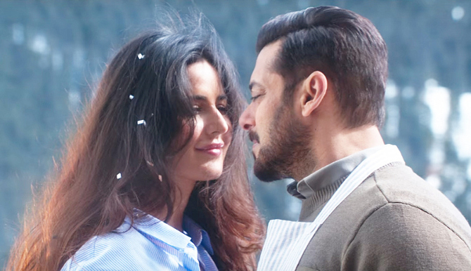 Salman Khan Tiger Zinda Hai Movie Stills  48