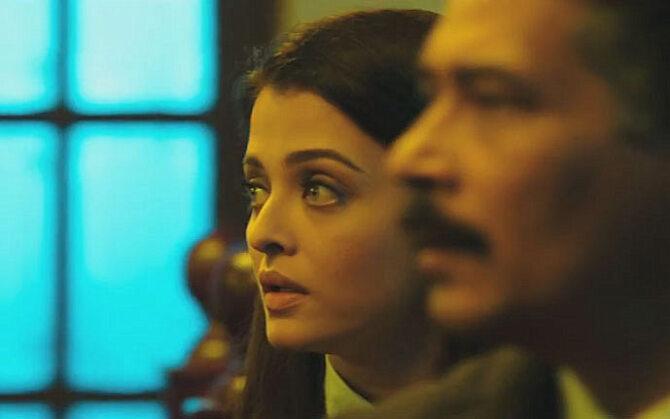 Aishwarya Rai Atul Kulkarni Bachchan Film JAZBAA Pic
