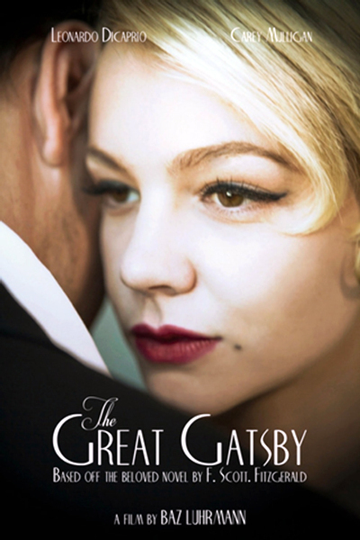 Carey Mulligan The Great Gatsby Movie Poster