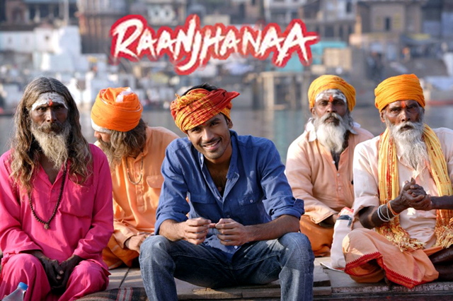 Sonam Kapoor And Dhanush Raanjhanaa Movie  Still