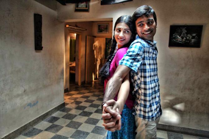Dhanush Shruti Hassan 3 Tamil Movie Images : 3 Tamil Movie