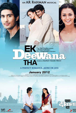 Prateik Babbar and Amy Jackson Ek Deewana Tha Movie First Look Pic