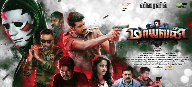 Maayavan Tamil Movie Poster