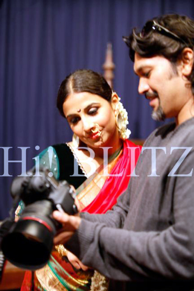 Vidya Balan Shoot for Hi BLITZ Magazine Photo