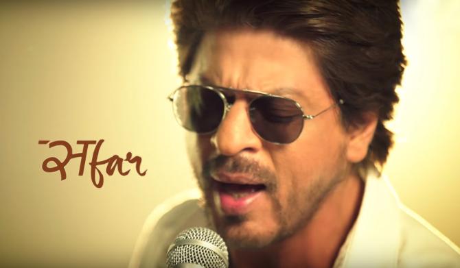 Shah Rukh Khan Jab Harry Met Sejal Movie Safar Song Pics  11