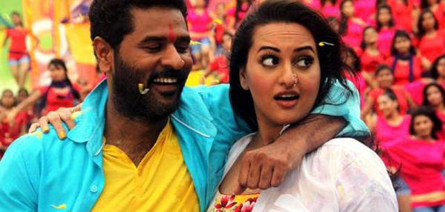 Prabhu Deva Sonakshi Sinha  OMG Oh My God Movie Song Pic