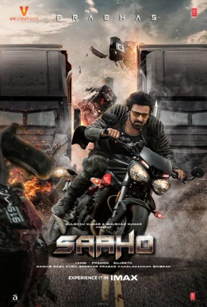 Saaho Movie Poster