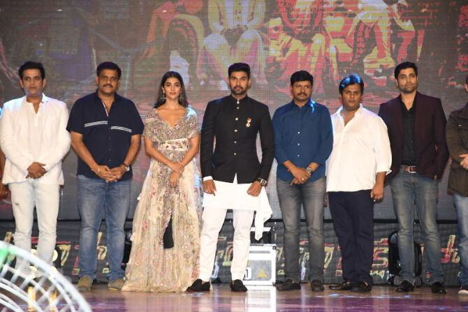 Sakshyam Movie Audio  34