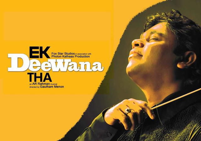 A R Rahman Music For Ek Deewana Tha Movie Pic