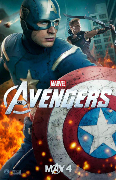The Avengers Captain America Pic