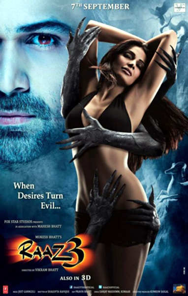 Bipasha Basu Raaz 3 Movie Poster First Look