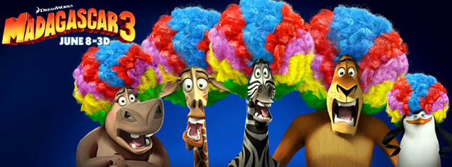 Madagascar 3 Movie First Look