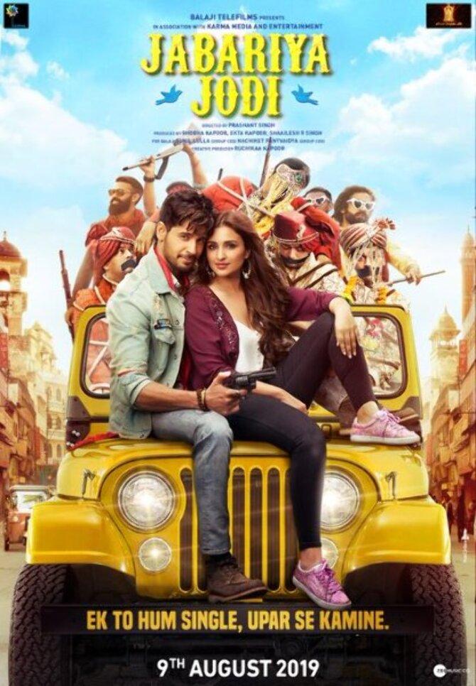 New poster of Jabariya Jodi