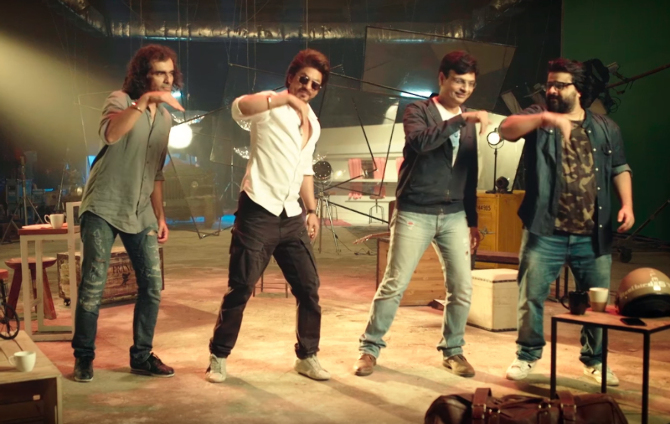 Shah Rukh Khan Jab Harry Met Sejal Movie Safar Song Pics  14