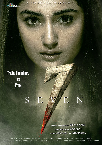 Tridha Choudhury as Priya in Movie Seven