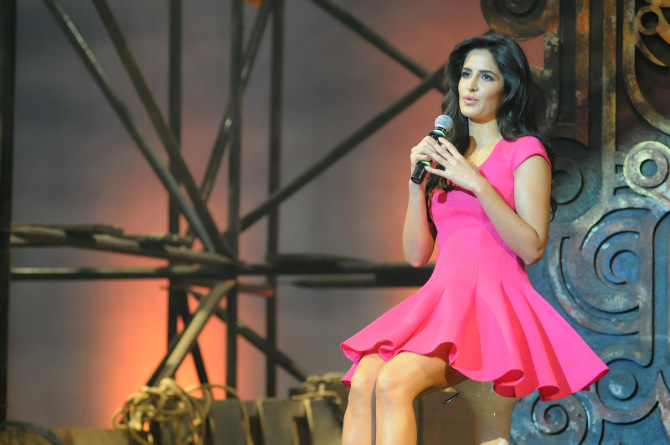 Katrina Kaif At Dhoom 3 Movie Promotion Photo : Katrina