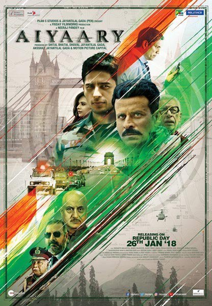 First look of Sidharth Malhotra and Manoj Bajpayee starrer Aiyaary