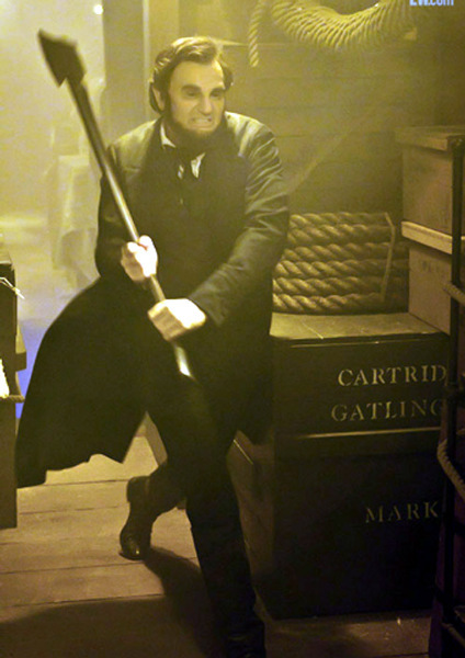 Benjamin Walker Abraham Lincoln Vampire Hunter Movie Photos