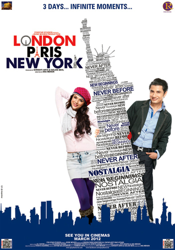 Ali Zafar and Aditi Rao Hydari London Paris New York Movie Wallpaper