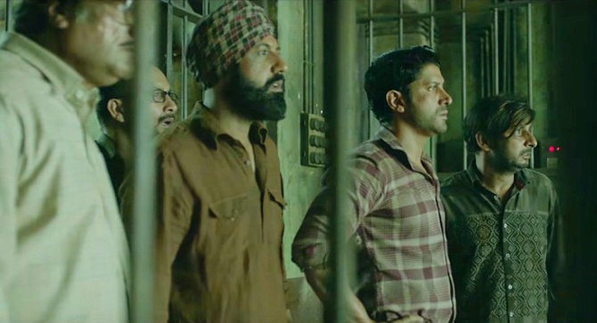 Farhan Akhtar Lucknow Central Movie Stills  12