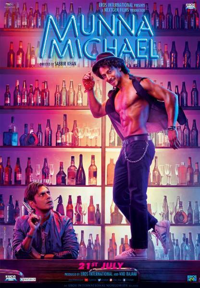 Tiger Shroff Munna Michael Latest Poster