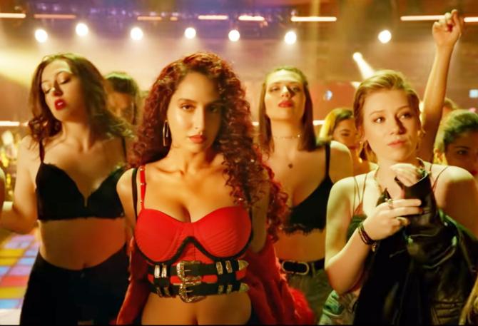 Nora Fatehi   Varun Dhawan starrer Street Dancer 3D Movie Song Garmi Pic  1