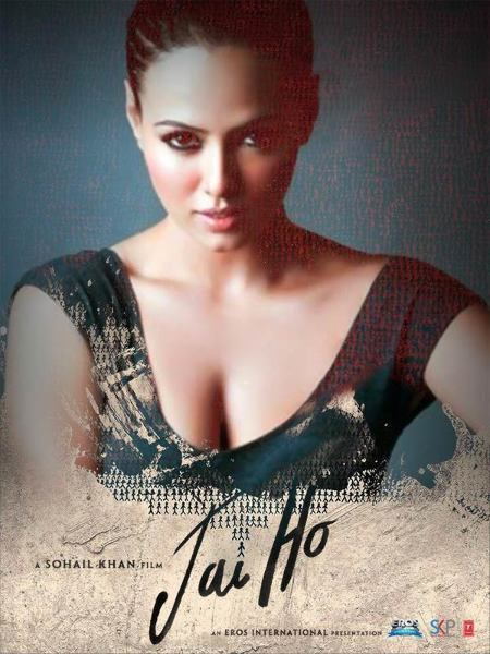 Sana Khan Jai Ho Movie Poster