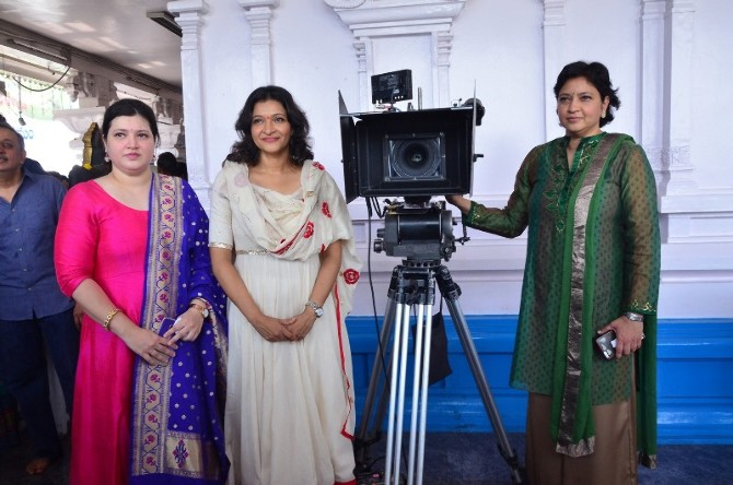 Anandi Indira Production No1 Movie Opening  10