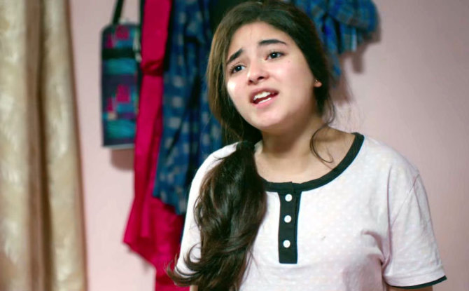 Zaira Wasim Secret Superstar Movie Stills  2