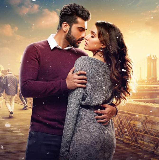 Shraddha Kapoor  Arjun Kapoor Half Girlfriend Movie Wallpaper