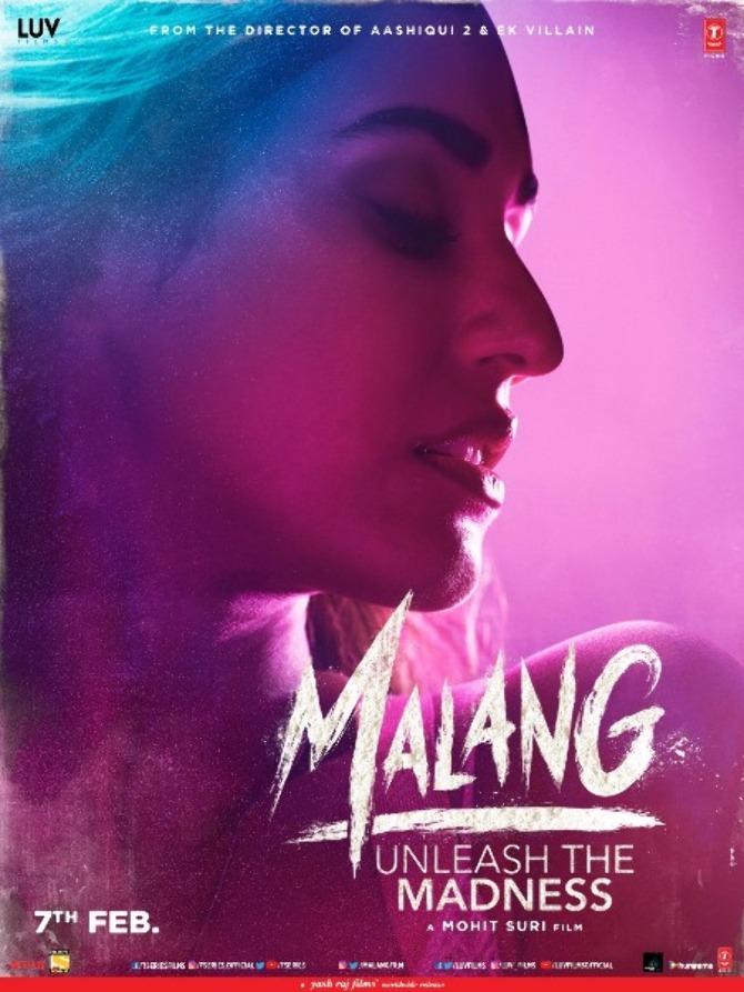 Disha Patani starrer Malang Movie Poster