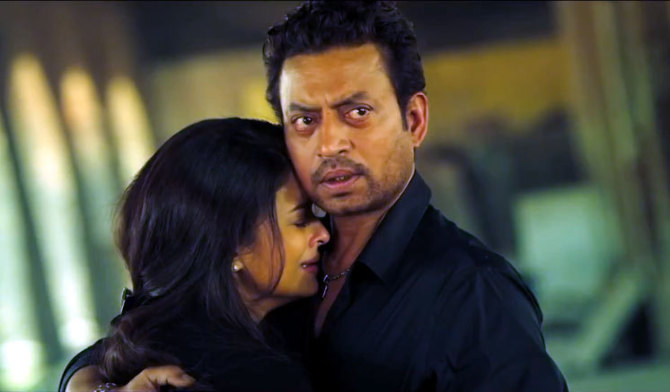 Aishwarya Rai Bachchan Irrfan Khan Bachchan JAZBAA  Movie Photo