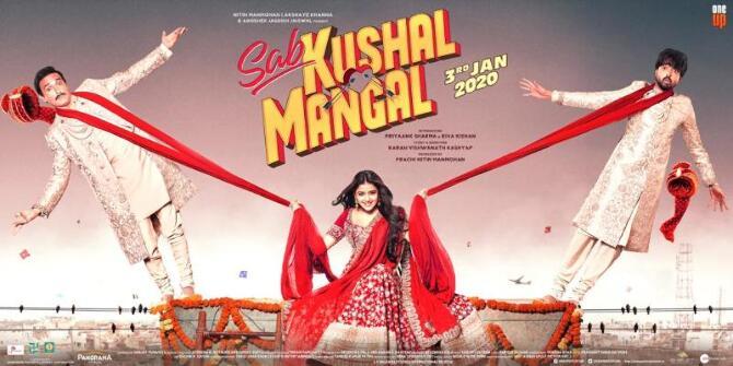 Sab Kushal Mangal New poster