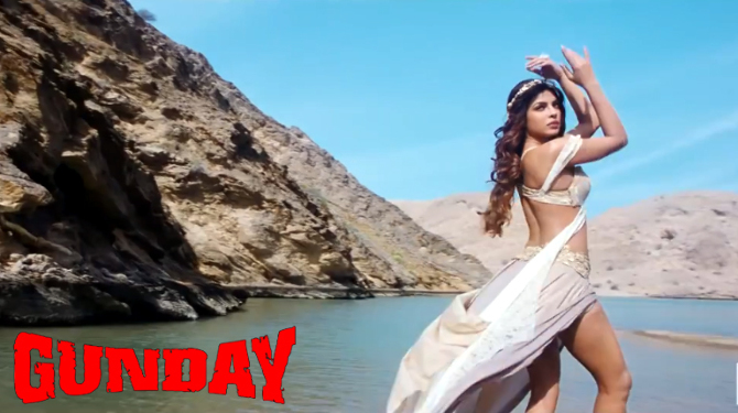 Hot Priyanka Chopra Gunday Movie